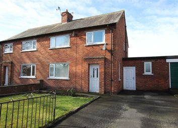Thumbnail 3 bed semi-detached house for sale in 3 Stackbraes Road, Longtown, Carlisle, Cumbria