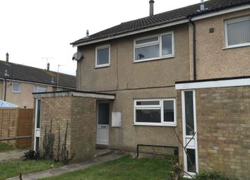 Thumbnail 3 bed end terrace house to rent in Burnt Close, Luton, Beds