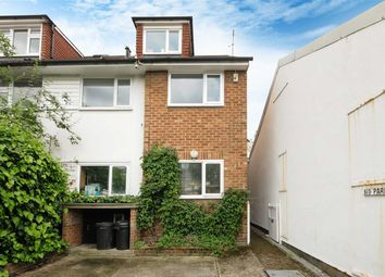 Thumbnail 3 bedroom flat to rent in Glentham Cottages, Glentham Road, London