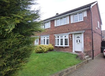 Thumbnail 3 bed end terrace house to rent in Edmund Close, Meopham, Gravesend