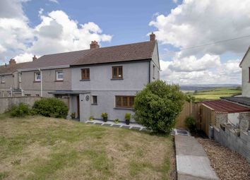 Thumbnail 3 bedroom semi-detached house for sale in Caban Isaac Road, Swansea, West Glamorgan