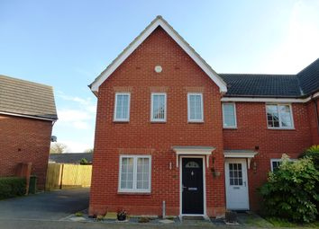 Thumbnail 3 bedroom property to rent in Kingfisher Road, Attleborough