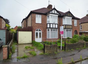 Thumbnail 3 bed semi-detached house for sale in Kingsley Avenue, Wisbech