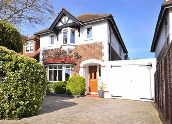 Thumbnail 3 bed detached house for sale in Downlands Avenue, Broadwater, Worthing, West Sussex
