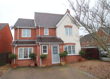 Thumbnail 4 bed detached house for sale in Pym Close, Thorpe St. Andrew, Norwich