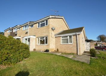 Thumbnail 3 bedroom end terrace house for sale in Glastonbury Close, Ipswich