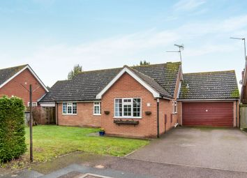 Thumbnail 3 bedroom detached bungalow for sale in Clements Close, Scole, Diss