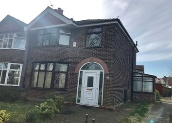 Thumbnail 3 bed semi-detached house to rent in Lostock Road, Urmston, Manchester