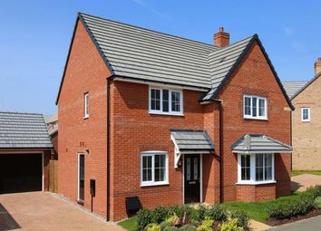 "Thumbnail 4 bedroom detached house for sale in ""Cambridge"" at Highfield, Froxhill Crescent, Brixworth, Northampton"