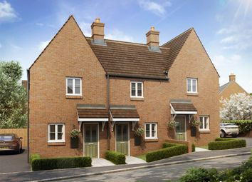 "Thumbnail 2 bed terraced house for sale in ""The Eydon"" at Heathencote, Towcester"