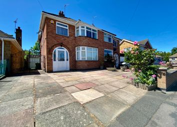 Thumbnail 3 bed semi-detached house to rent in Moorgate Avenue, Birstall, Leicester