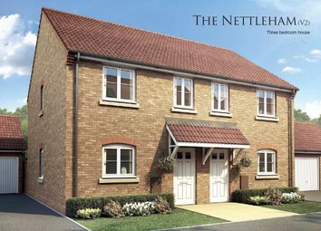 Thumbnail 3 bed semi-detached house for sale in The Nettleham, Boston Gate, Sibsey Road, Boston