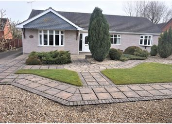 Thumbnail 3 bed detached bungalow for sale in Waltham Road, Brigsley