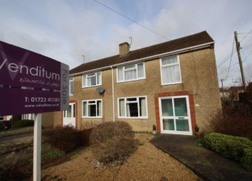 Thumbnail 3 bed semi-detached house for sale in Mayfair Road, Laverstock, Salisbury, Wilts