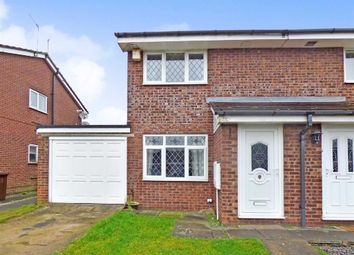 Thumbnail 2 bed semi-detached house for sale in Kempton Grove, Cheadle, Stoke-On-Trent