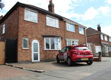 Thumbnail 3 bed semi-detached house to rent in Rossett Drive, Stadium Estate, Leicester
