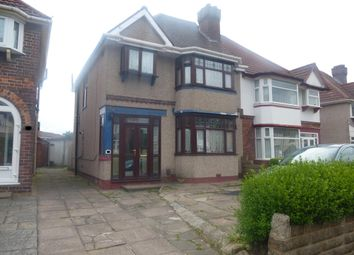 Thumbnail 3 bed property to rent in Flaxley Road, Birmingham
