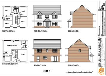 Thumbnail 4 bed detached house for sale in Leckwith Drive, Cefn Glas, Bridgend.