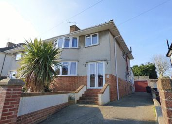 Thumbnail 4 bed semi-detached house for sale in Hillcroft Close, Weston-Super-Mare