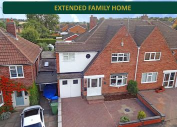 Thumbnail 4 bed semi-detached house for sale in Sedgefield Drive, Thurnby, Leicester