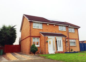 Thumbnail 2 bed semi-detached house for sale in Barnhill Drive, Springburn, Glasgow