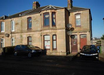 Thumbnail 2 bed flat for sale in Stevenston Road, Kilwinning