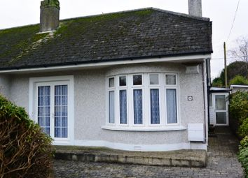 Thumbnail 2 bed terraced bungalow to rent in Woodland Road, St. Austell