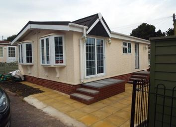Thumbnail 2 bedroom mobile/park home for sale in The Firs Mobile Home Park, Cannock, Staffordshire