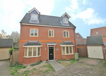 Thumbnail 5 bed detached house to rent in Foxley Place, Loughton, Milton Keynes