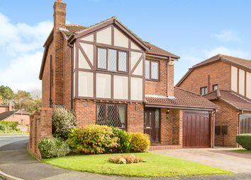 Thumbnail 4 bed detached house for sale in Summerfield Drive, Moulton, Northwich, Cheshire