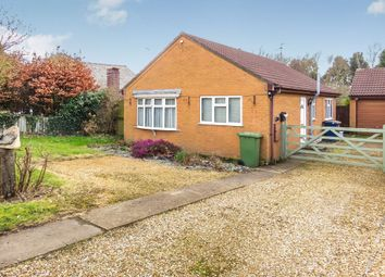 Thumbnail 2 bed detached bungalow for sale in Gull Road, Guyhirn, Wisbech