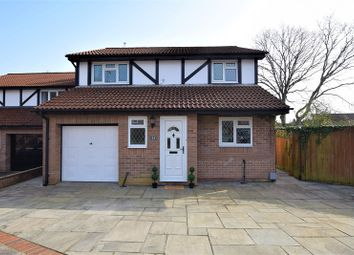 Thumbnail 4 bed detached house for sale in Norwood, Thornhill, Cardiff.