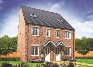 "Thumbnail 3 bed terraced house for sale in ""Bickleigh"" at Station Road, North Hykeham, Lincoln"