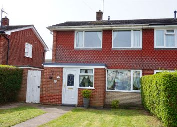 Thumbnail 2 bed semi-detached house for sale in Regent Avenue, Lincoln