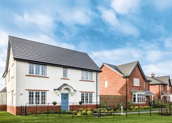 "Thumbnail 4 bed detached house for sale in ""The Darlton"" At Wood Lane, Binfield, Bracknell RG42, Near Bracknell,"