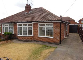 Thumbnail 2 bed semi-detached bungalow for sale in Hazelwood Avenue, Osbaldwick, York