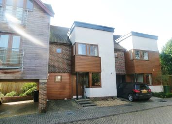 Thumbnail 4 bed town house for sale in Edwards Close, Kings Worthy, Winchester