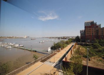 Thumbnail 3 bed flat to rent in Olympian Way, Barge Walk, North Greenwich, London