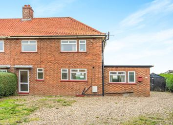 Thumbnail 3 bedroom semi-detached house for sale in Priory Road, Bacton, Norwich