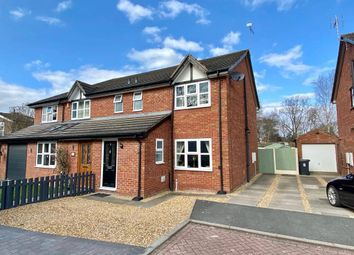 Chamberlain Court, Haslington, Crewe CW1. 3 bed semi-detached house for sale
