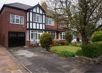Thumbnail 4 bed semi-detached house for sale in Moss Lane, Timperley.