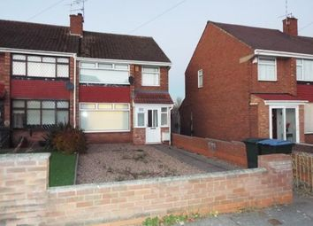 Thumbnail 3 bedroom end terrace house for sale in Armscott Road, Coventry, West Midlands