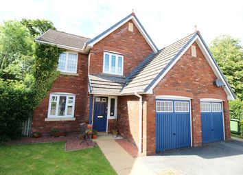 Thumbnail 4 bed detached house for sale in The Parklands, Cockermouth, Cumbria