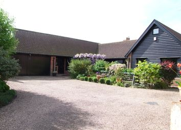 Thumbnail 4 bed detached bungalow for sale in Benhall Green, Benhall, Saxmundham