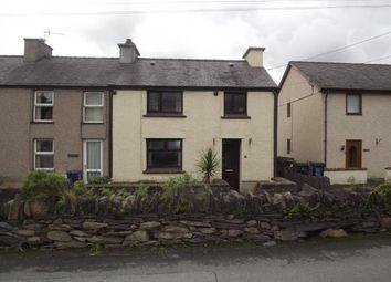 Thumbnail 3 bed end terrace house for sale in Bryncelyn, Talysarn, Caernarfon, Gwynedd