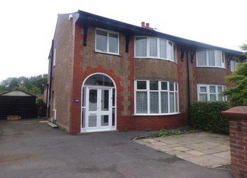 Thumbnail 3 bed semi-detached house to rent in Preston Road, Preston