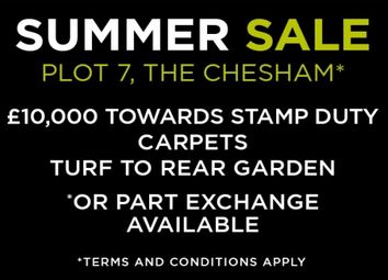 """Thumbnail 5 bedroom detached house for sale in """"Chesham"""" at Common Lane, Lach Dennis, Northwich"""