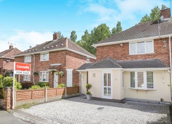 Thumbnail 2 bed semi-detached house for sale in Barnard Road, Ashmore Park Wednesfield, Wolverhampton