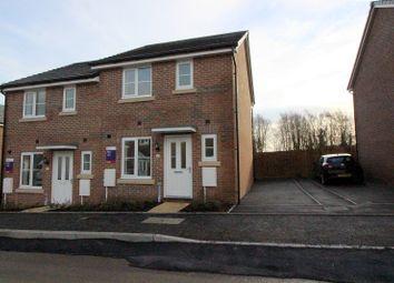 Thumbnail 3 bed semi-detached house to rent in Clos Meredith, Brackla, Bridgend.