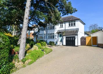 Thumbnail 4 bed semi-detached house for sale in Crescent Road, Bishop's Stortford